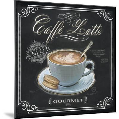 Coffee House Caffe Latte-Chad Barrett-Mounted Art Print