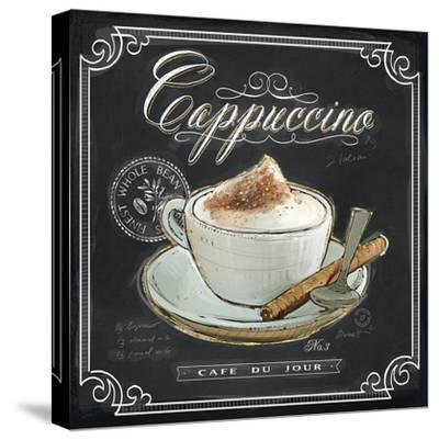 Coffee House Cappuccino-Chad Barrett-Stretched Canvas Print