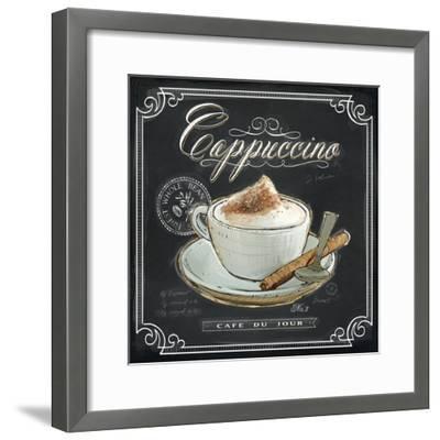 Coffee House Cappuccino-Chad Barrett-Framed Art Print