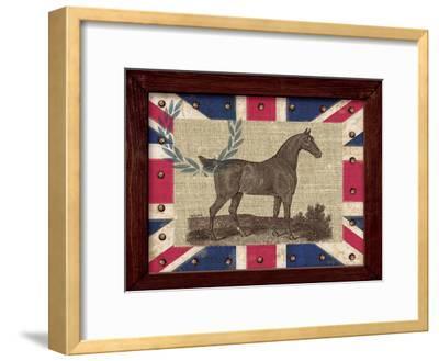 British Equestrian-Sam Appleman-Framed Art Print