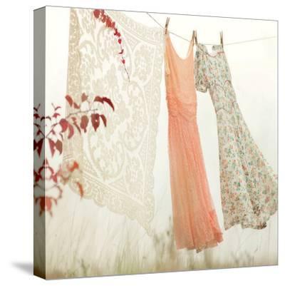 Breezy Dresses-Mandy Lynne-Stretched Canvas Print