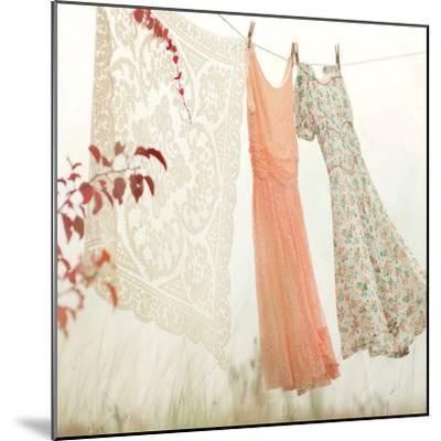 Breezy Dresses-Mandy Lynne-Mounted Art Print
