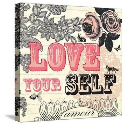 Love Yourself-Violet Leclaire-Stretched Canvas Print