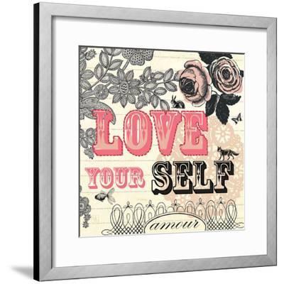 Love Yourself-Violet Leclaire-Framed Art Print