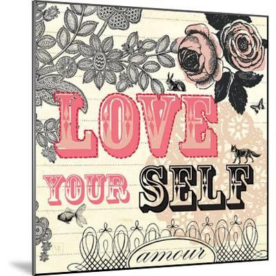 Love Yourself-Violet Leclaire-Mounted Art Print