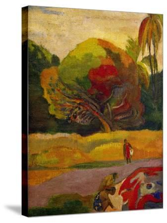 Women by the River, 1892-Paul Gauguin-Stretched Canvas Print