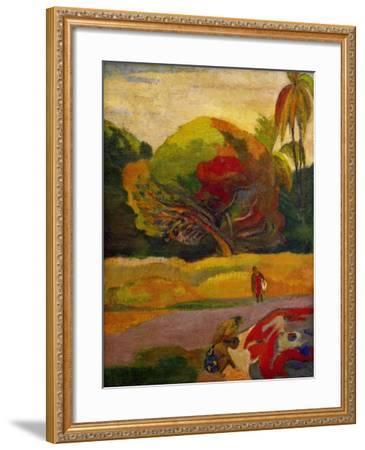 Women by the River, 1892-Paul Gauguin-Framed Giclee Print