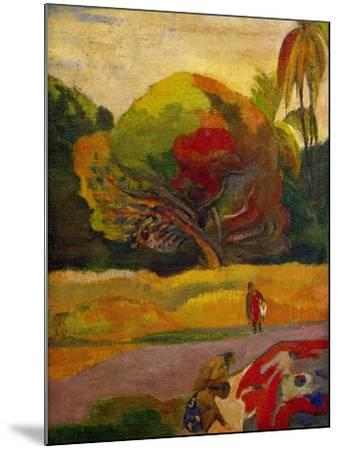Women by the River, 1892-Paul Gauguin-Mounted Giclee Print