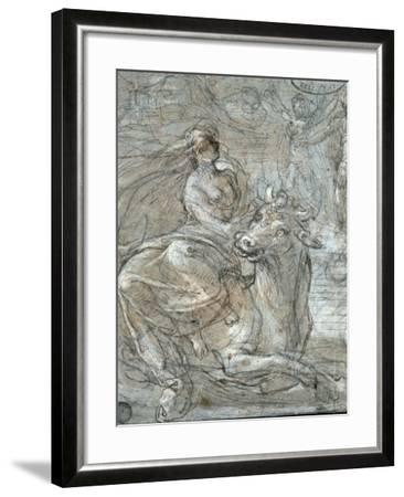 The Abduction of Europa-Prospero Fontana-Framed Giclee Print