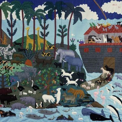 Noah's Ark, Peru, C20th--Framed Giclee Print