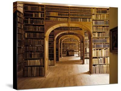 Görlitz, Library, Interior--Stretched Canvas Print