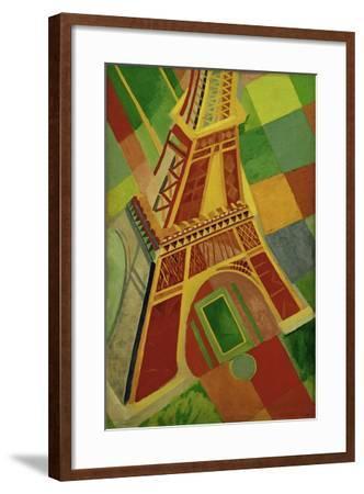 La Tour Eiffel (Eiffel tower), 1926-Robert Delaunay-Framed Giclee Print