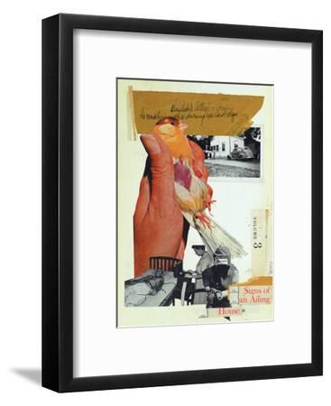 Signs of an Ailing House-Molly Bosley-Framed Giclee Print