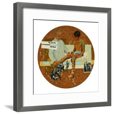 Secrets Below-Molly Bosley-Framed Giclee Print