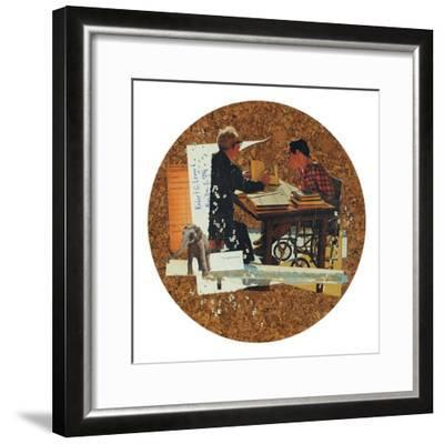 Neglect & Void-Molly Bosley-Framed Premium Giclee Print