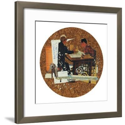 Neglect & Void-Molly Bosley-Framed Giclee Print