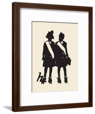 Canker Sores & Blight-Molly Bosley-Framed Giclee Print