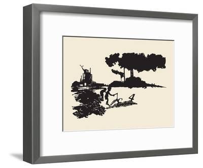 Contamination-Molly Bosley-Framed Giclee Print