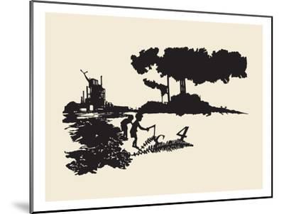 Contamination-Molly Bosley-Mounted Giclee Print