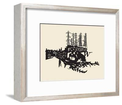 The Nature of Things-Molly Bosley-Framed Giclee Print