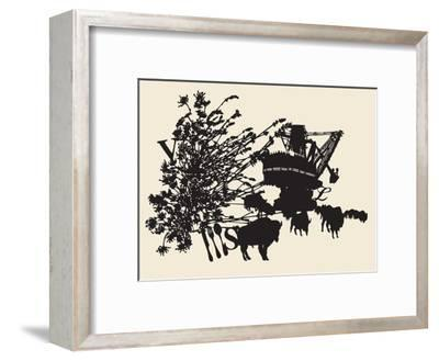 Delicious Repair-Molly Bosley-Framed Giclee Print