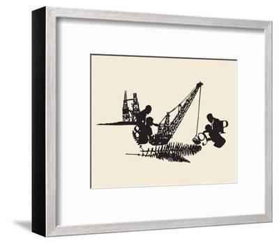 Interference-Molly Bosley-Framed Giclee Print
