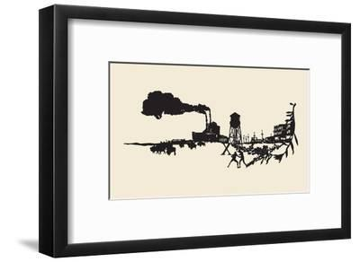 A Mildewed Past-Molly Bosley-Framed Premium Giclee Print