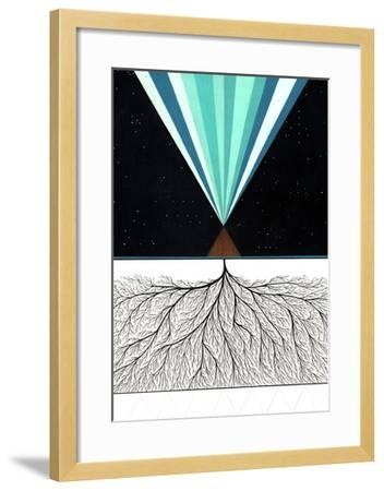 Above and Below-Mark Warren Jacques-Framed Premium Giclee Print