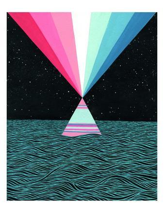Ocean Blast-Mark Warren Jacques-Premium Giclee Print