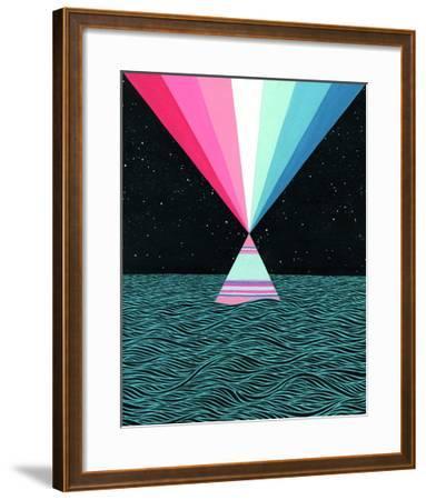 Ocean Blast-Mark Warren Jacques-Framed Premium Giclee Print