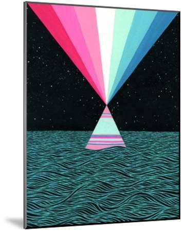 Ocean Blast-Mark Warren Jacques-Mounted Premium Giclee Print