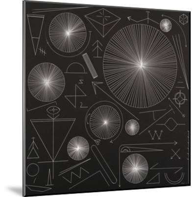 Night Symbols-Mark Warren Jacques-Mounted Premium Giclee Print