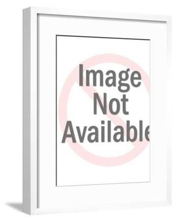 Overhead shot-Pop Ink - CSA Images-Framed Art Print