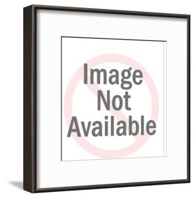 Portrait of a Man-Pop Ink - CSA Images-Framed Art Print