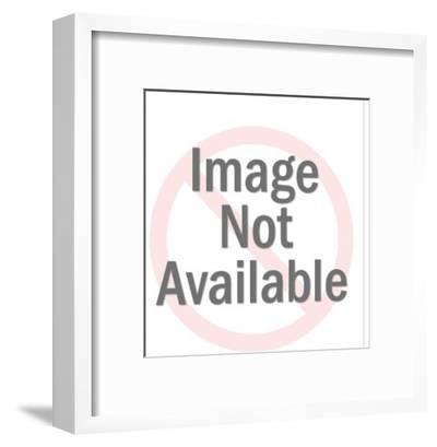 Businessman at Desk-Pop Ink - CSA Images-Framed Art Print