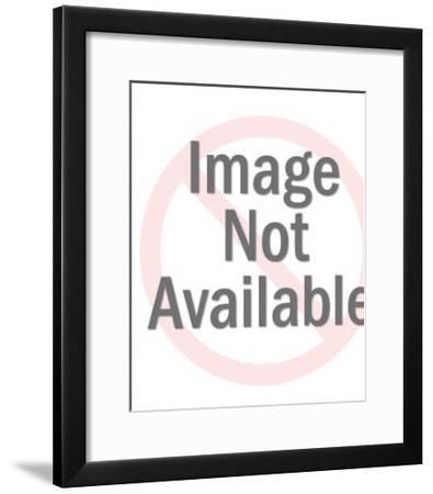 Mental Patient; Older Man; Tunnel Chase-Pop Ink - CSA Images-Framed Art Print