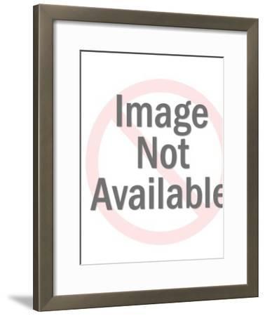 Wave-Pop Ink - CSA Images-Framed Art Print