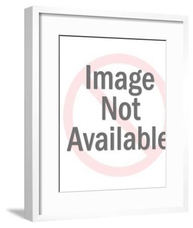 Man in Hat-Pop Ink - CSA Images-Framed Art Print