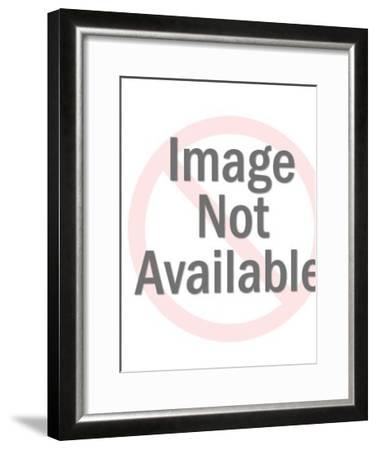 Soda cap pattern-Pop Ink - CSA Images-Framed Art Print