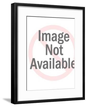 Jesus Christ-Pop Ink - CSA Images-Framed Art Print