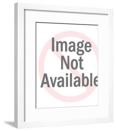 Beefeater-Pop Ink - CSA Images-Framed Art Print