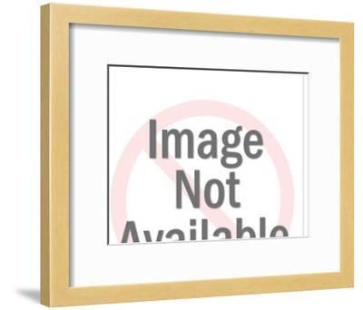 Fired Handgun-Pop Ink - CSA Images-Framed Art Print