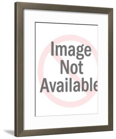 Two Models-Pop Ink - CSA Images-Framed Art Print