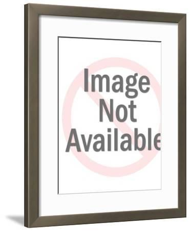 Puppy-Pop Ink - CSA Images-Framed Art Print