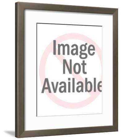 Shoe modeling-Pop Ink - CSA Images-Framed Art Print