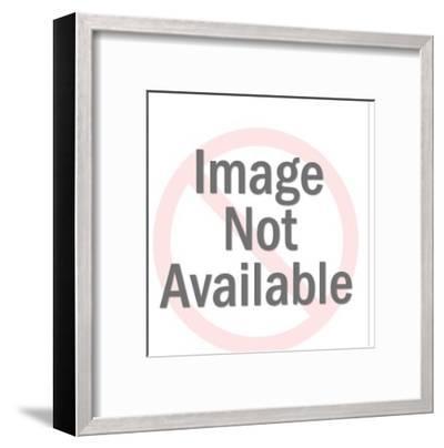 Mod pattern-Pop Ink - CSA Images-Framed Art Print