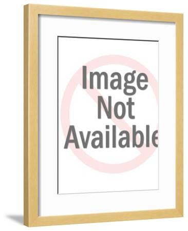 Chilling-Pop Ink - CSA Images-Framed Art Print