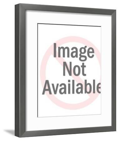 Bear With Bow and Arrow-Pop Ink - CSA Images-Framed Art Print