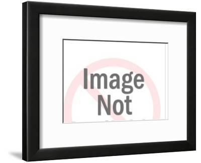 Hen and Chicks-Pop Ink - CSA Images-Framed Art Print