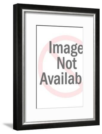 King Holding Sword-Pop Ink - CSA Images-Framed Art Print